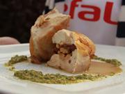 Kuřecí prsa - recept na kuřecí prsa se sušenými rajčaty a vlašskými ořechy