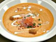 Lososový krém - recept na lososovou polévku