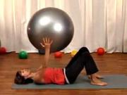 Pilates na míči pro začátečníky