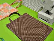 Nákupní taška - Šijeme jednoduchou nákupní tašku (3/3) - kurzy šití