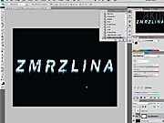 Efektní nápis ve Photoshopu - jak vyrobit efektní nápis
