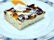 Tvarohový koláč s ovocem - recept na ovocný tvarohový koláč