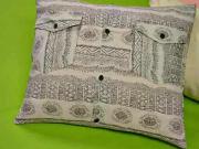 Povlak na polštář z pánské košile
