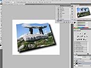 Zvlněná pohlednice ve Photoshopu (2/2)