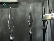 Výroba brány, plotu - patinování kovu