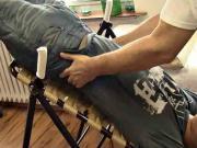 Inverzní lavice - terapie