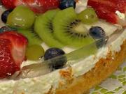 Ovocný dort - recept na ovocný dort se želé