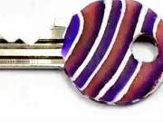 Barevné krytky na klíče