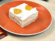 Broskvové řezy - recept na broskvové řezy