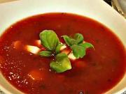 Rajčatová polévka - recept na rajčatovou polévku
