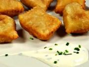 Taštičky z listového těsta - recept na taštičky plněné bramborovou kaší se smetanou a pažitkou