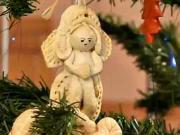 Vánoční ozdoby ze slaného těsta