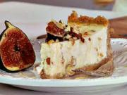 Vánoční cheesecake - recept na cheescake s fíky