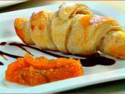 Croissant z listového těsta