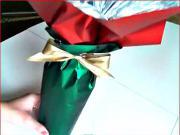 Jak zabalit dárek - víno nebo jiná láhev