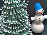 Vánoční stromek z plastové láhve