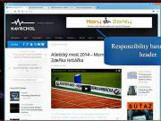 WordPress: Jak optimalizovat velikost bannerů při responzibilnom designu.