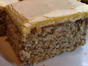 Ořechový zákusek - recept na ořechové řezy
