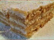 Medové řezy s karamelem - recept