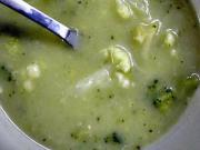 Brokolicová polévka - recept na brokolicová polévku - Brokolicová krémová polévka