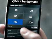 Výběr z bankomatu Tatrabanka