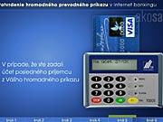 Karta a čtečka: jak potvrdit hromadný převodný příkaz v Internet bankingu
