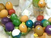 Velikonoční vajíčka - tip na netradiční zdobení