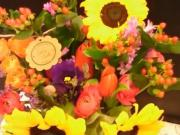 Kytice květin ve váze - postup