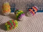 Velikonoční vajíčko z gumiček