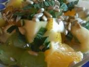 Ovocný salát s medovou zálivkou - recept