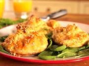 Zapékaný jarní batůžek - recept