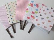 Zápisník - jak vyrobit mini zápisník - diář