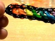 Náramek z točených gumiček