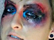 Módní výbuch make-upu - líčení na halloween