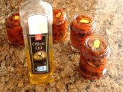Sušená rajčata - recept na sušená rajčata nakládané v oleji