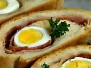 Zapečené chlebíčky - recept na chlebíčky z kynutého těsta