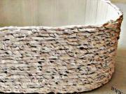 Košík (květináč) z kartonu