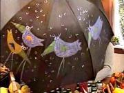 Malování na deštník