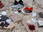 10 DIY tipů na vánoční kartičky - jmenovky na dárky