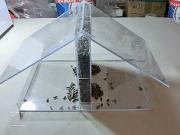Jak vyrobit krmítko se zásobníkem z plexiskla - krmítko pro ptáky