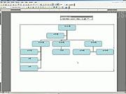 Vytvoření organizační struktury ve  Microsoft Word