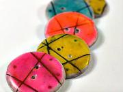Knoflíky - jak si doma vyrobit originální knoflíky z polymerové (fimo) hmoty