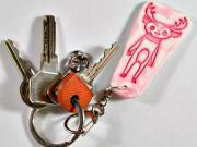 Klíčenka na klíče - Jak si doma vyrobit klíčenku na klíče