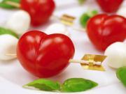 Srdce z rajčat - jak udělat z rajčat srdce