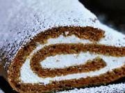 Mrkvový roláda - recept na mrkvový dort