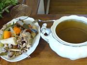Kuřecí vývar - kuřecí polévka recept
