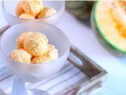 Melounová zmrzlina - recept na domácí malinovou zmrzlinu