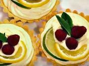 Tartaletky s rebarborou a mascarpone krémom - recept