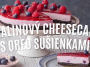 Malinový cheesecake s Oreo sušenkami - recept