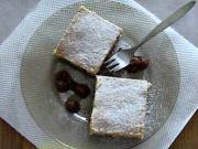 Ořechový koláč z třeného těsta - recept